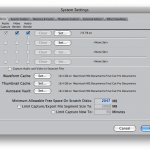 final cut pro system settings
