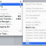 export xml from final cut pro