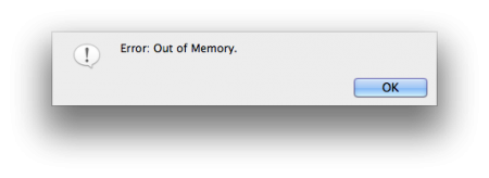 """How to fix """"Out of memory"""" error in Final Cut Pro 7 you down ..."""